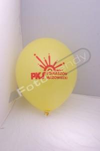 Balony z helem promocją działalności sieci komunikacyjnych